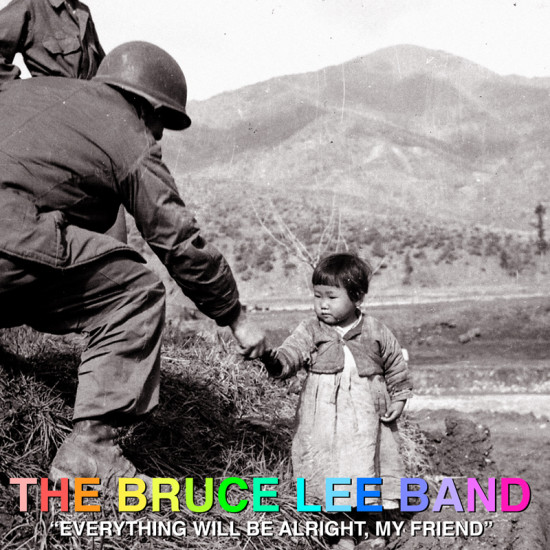 Bruce Lee Band LP Cover